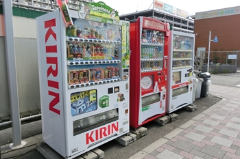 カーウォッシュ・大井・自動販売機