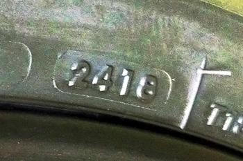 BT023フロントタイヤ・製造年月