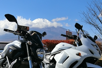 山中湖・MT-07_Bandit1250F
