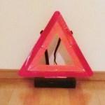 エマーソン三角停止表示板