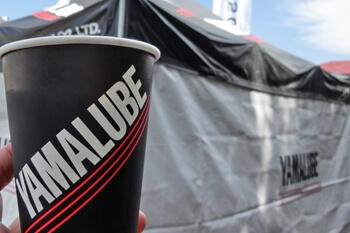 YAMALUBE・無料コーヒー