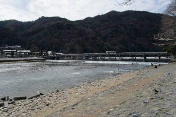 京都嵐山・桂川