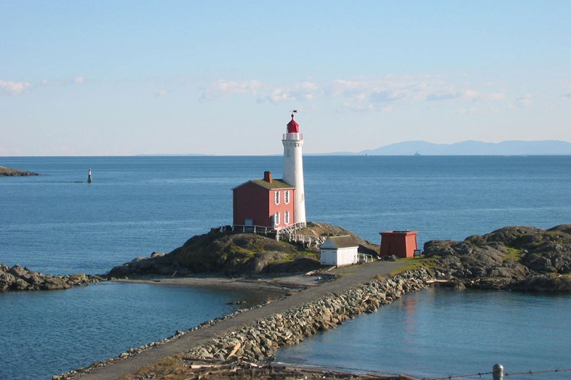 Discover original guns, intriguing underground magazines and camouflaged searchlight emplacements built more than 100 years ago at Fisgard Lighthouse. Photo: Brian Young