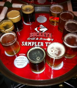 Sockeye Grill and Brewery, Boise