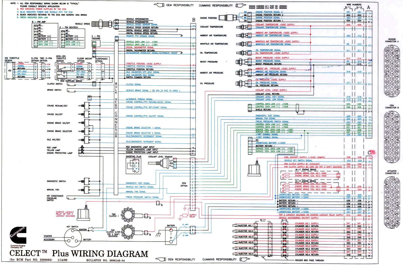 Ddec 3 ecm wiring diagram on cummins 8 3 ecm wiring diagram efcaviation com 1993 C1500 Wiring Diagram Gas Heater Wiring Diagram