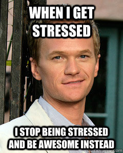 Funny Pictures Memes How To Not Manage Stress
