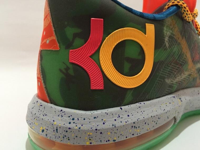 ナイキ KD6 ホワットザKD KDロゴ