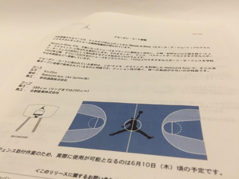 渋谷 ジョーダンコート 関係者資料