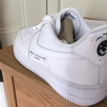 Supreme x COMME Des GARÇONS SHIRT x Nike Air Force 1 にミスプリントモデル?が存在