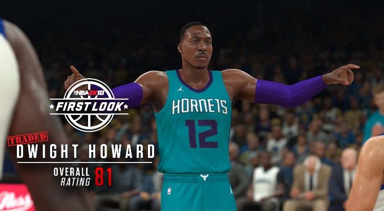 ホーネット ジョーダン ユニフォーム NBA2K18