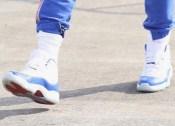 クリス・ポール エア ジョーダン11 ブルーカラー PEモデル