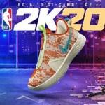 "NBA 2K20 x ナイキ PG4 ""デジカモ"" GE 登場!"