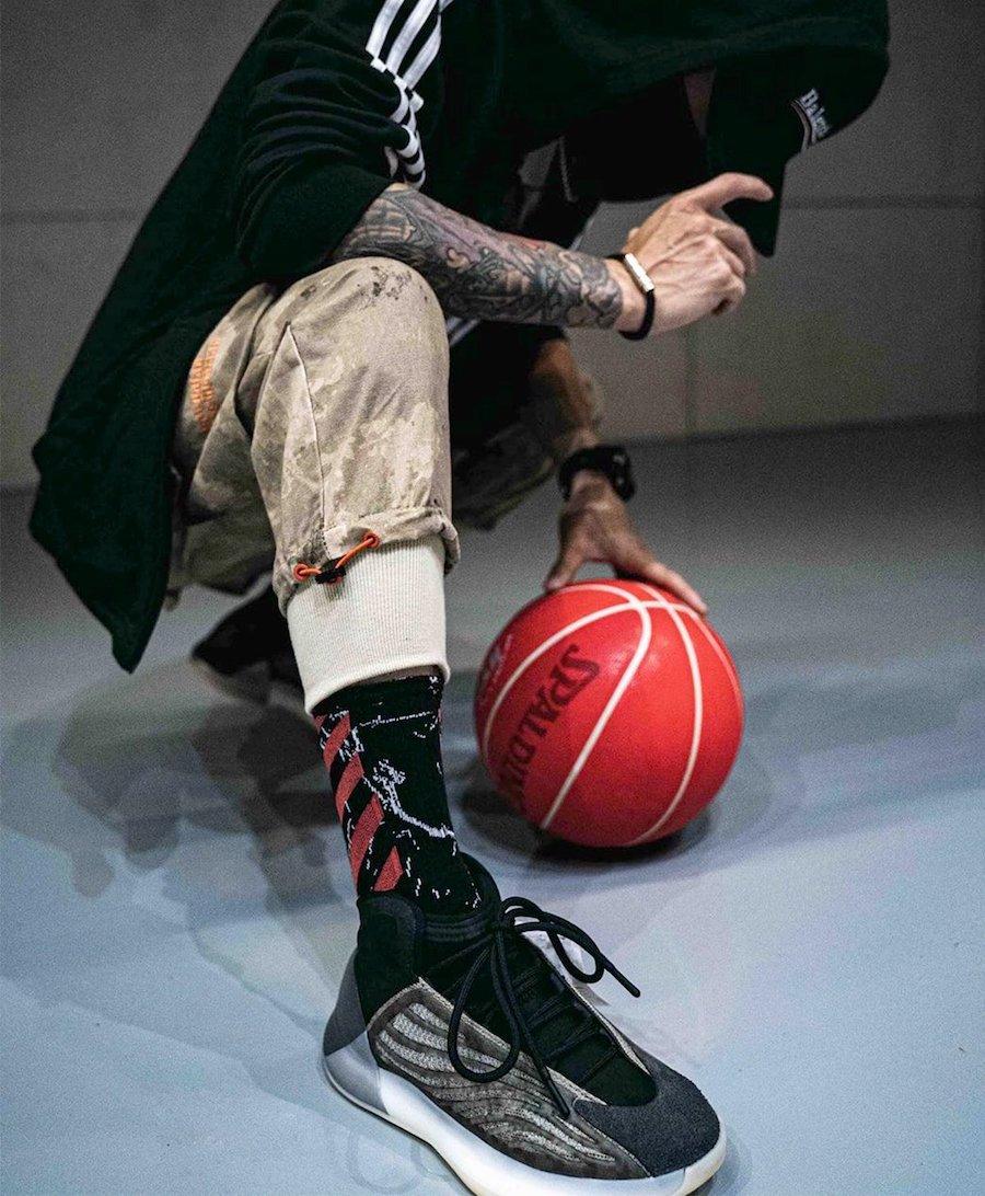 アディダス イージー バスケットボール クォンタム バリウム