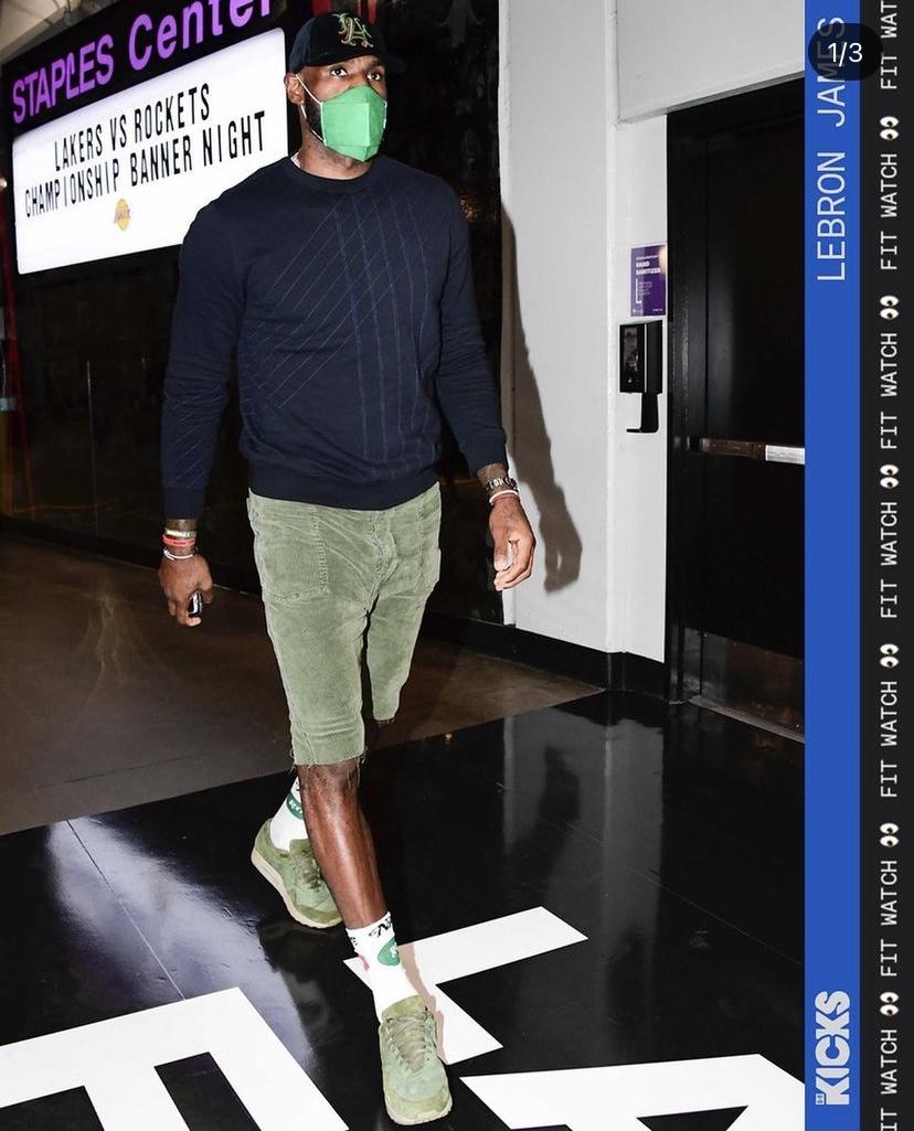 レブロン・ジェームズのファッション コレクション 2021年5月