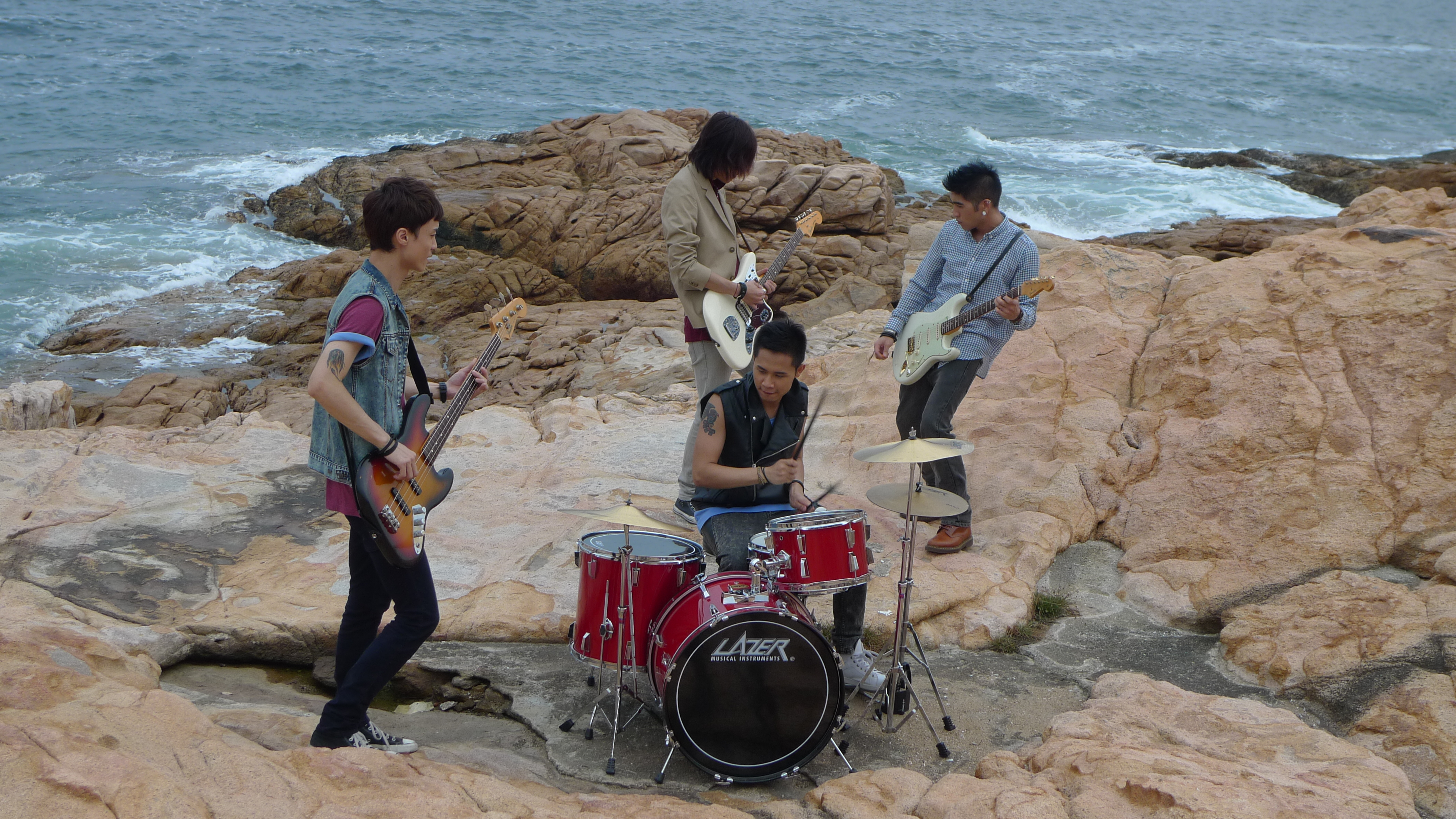 "KOLOR""愛莫能助""TVB MV拍攝花絮   K O L O R"