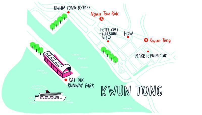 map - kwun tong