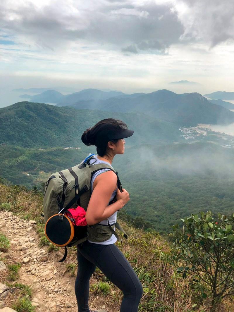 Laurel on Lantau Trail JS