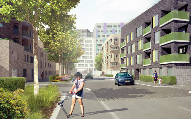 Jestico & Whiles rendering of new GMV phase