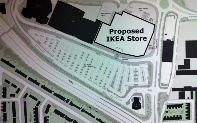 Ikea Greenwich plan