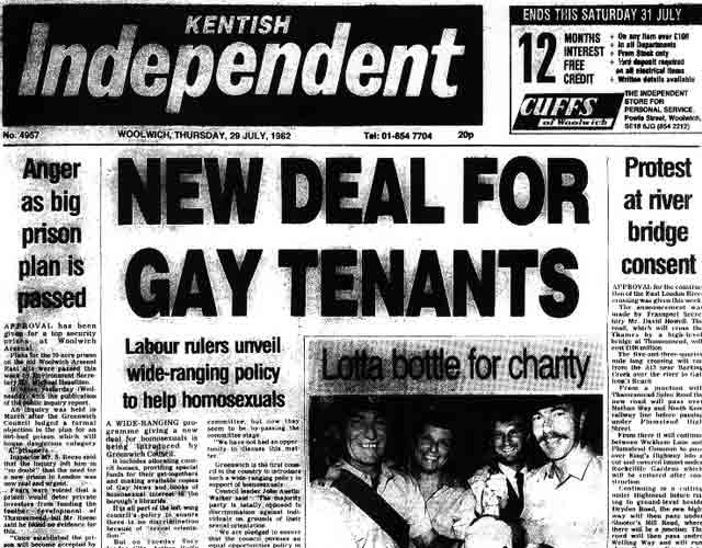 Kentish Independent, July 1982
