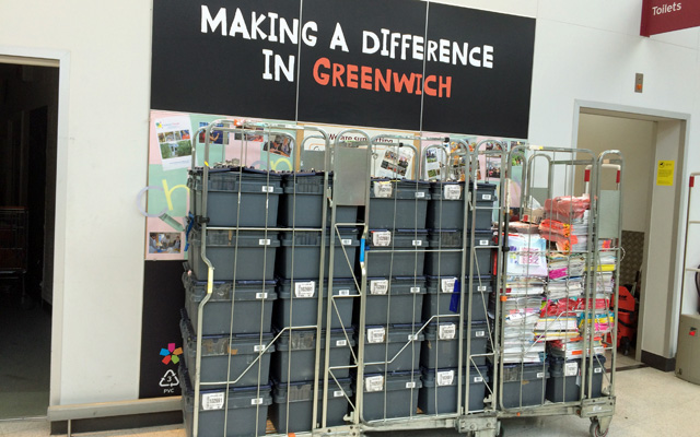 Greenwich Sainsbury's 23 June 2015