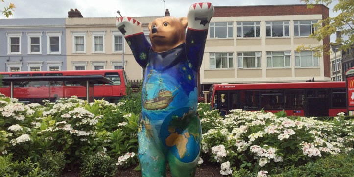 Woolwich's Buddy Bear