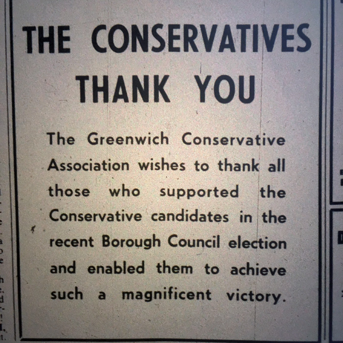 South East London Mercury ad, May 1968