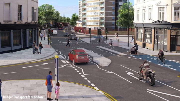 TfL visualisation of CS4