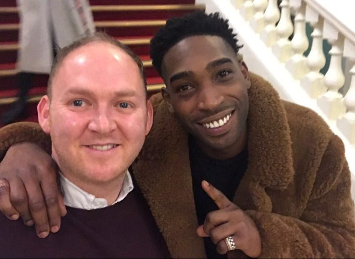 Danny Thorpe and Tinie Tempah