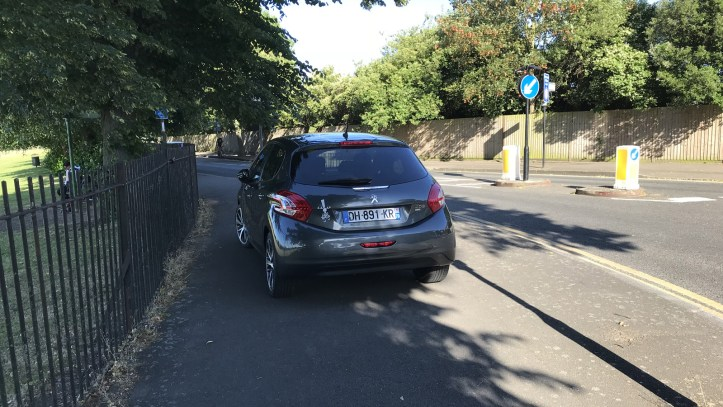 Charlton Park illegal parking