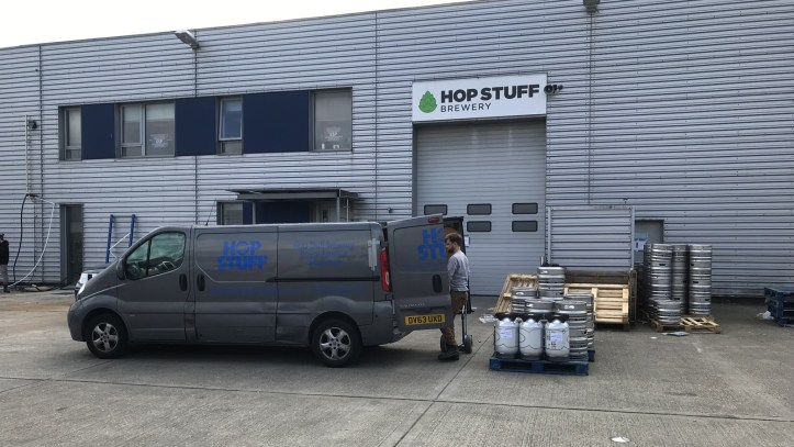 Hop Stuff brewery in Thamesmead