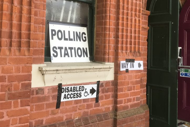 Polling station in Charlton Village