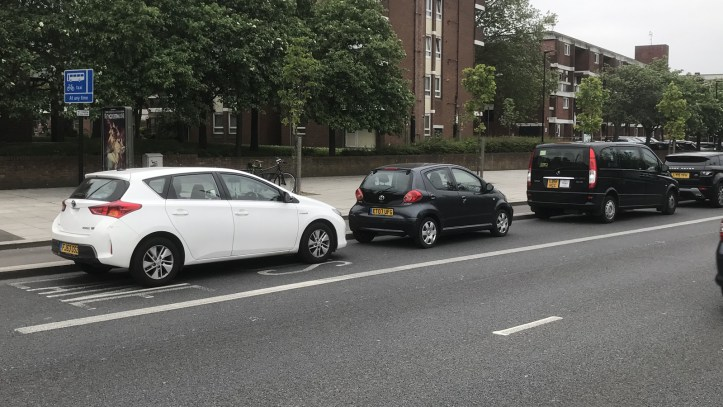 Plumstead Road illegal parking