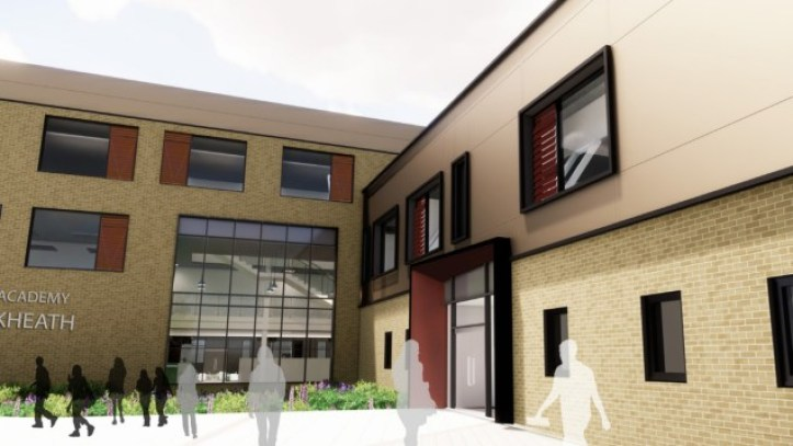 Leigh Academy Blackheath render