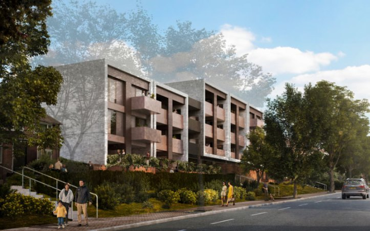 Well Hall Road render