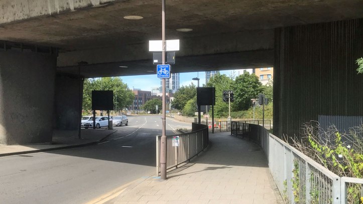 Blackwall Lane flyover