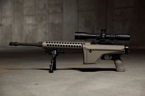 Law Tactical AR Folding Stock Adapter with Magpul MOE Rifle Stock.