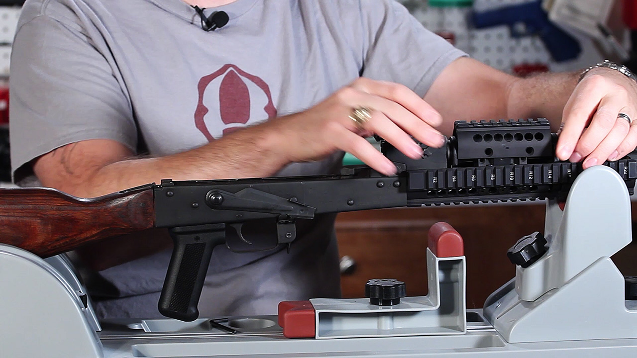 Improved AK – Midwest Industries Extended Handguard
