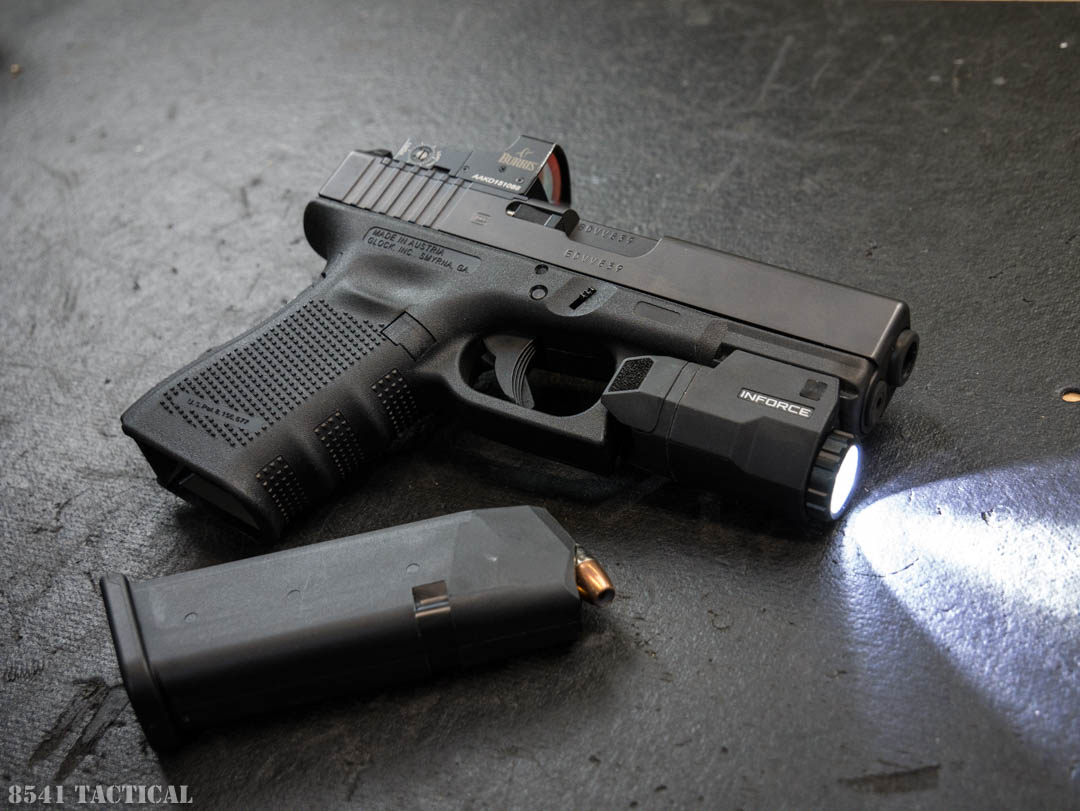 Inforce APLc Glock Pistol Light Review | 8541 TACTICAL
