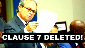 VICTORY! Gvt eliminated clause 7 on FOIA amendments