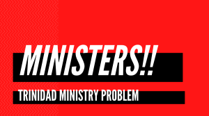 Ministries divorced, the problem of ministers