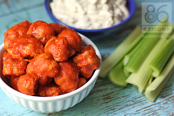 Vegan Blue Cheese Dressing With Buffalo Wings