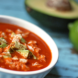 Tortilla Soup (vegan, gf)