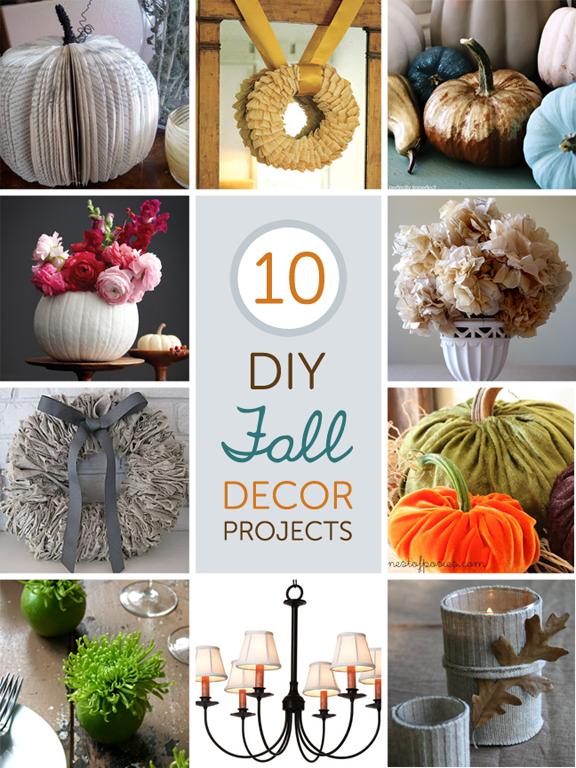 Diy Fall Decor Part - 16: 10 Fabulous DIY Fall Decor Projects