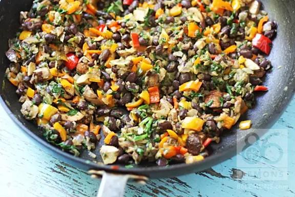 quesadillas vegan with veggies