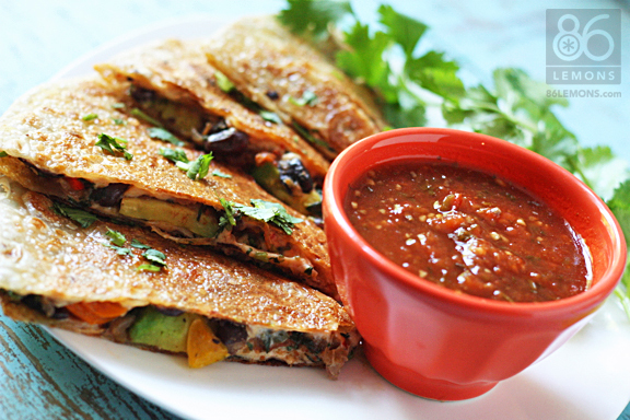 gluten free quesadillas