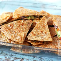 Vegan Quesadillas (Gluten Free)