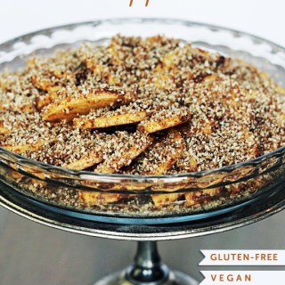 5-Ingredient Raw Apple Pie (vegan, gf, raw)