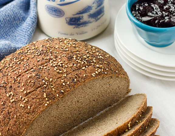 gluten free eggless bread