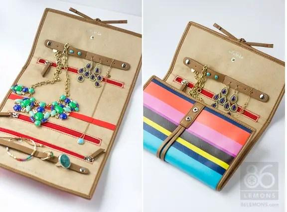 Stella & Dot Jewelry Roll  86lemons.com #travel #jewelry #accessories